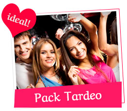 Pack despedidas Tardeo