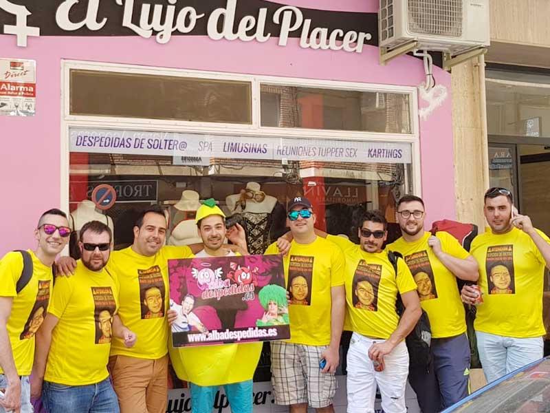 Solteros Despedidas Albacete.