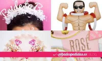 Complementos y productos para despedidas de soltera
